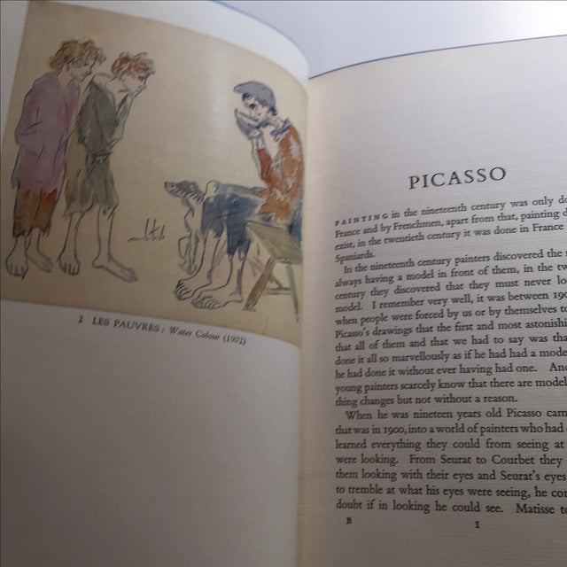 Picasso by Gertrude Stein 1939 Book - Image 5 of 11