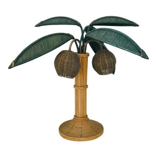 Mario Torres Lopez Coconut Palm Tree Lamp For Sale