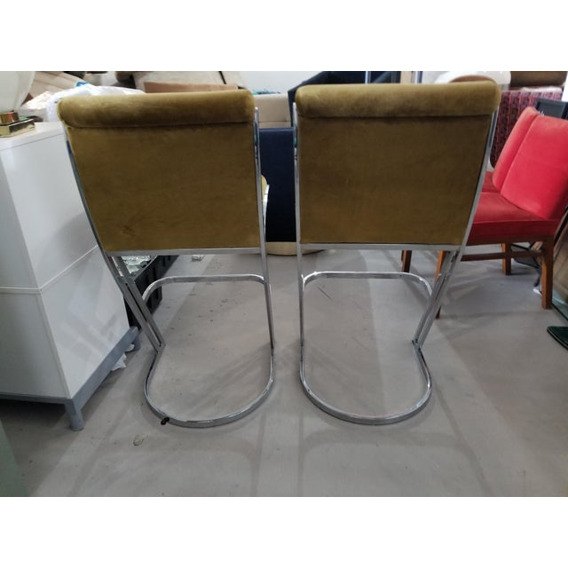 1970's Pierre Cardin Bar Stools - A Pair - Image 7 of 7
