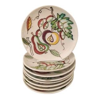 Italian Dessert Plates - Set of 8