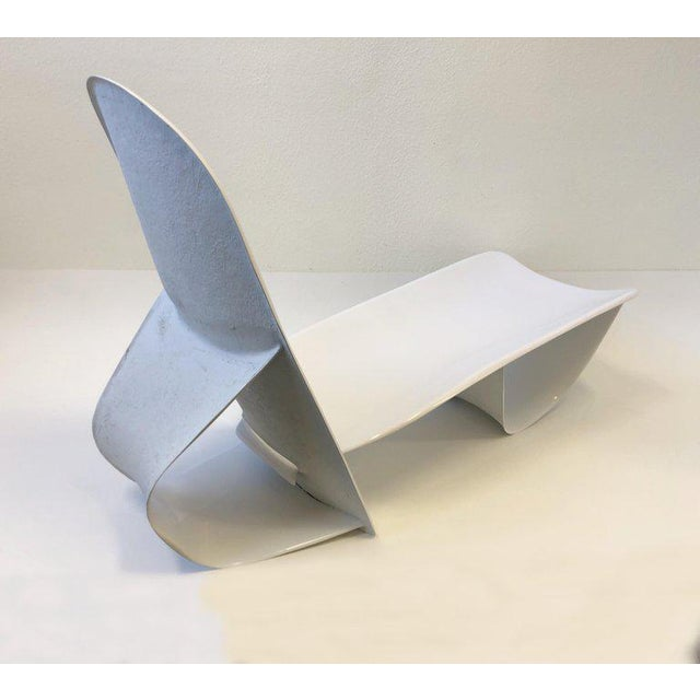1970s Set of Three Fiberglass Lounge Chases by Po Shun Leong For Sale - Image 5 of 12