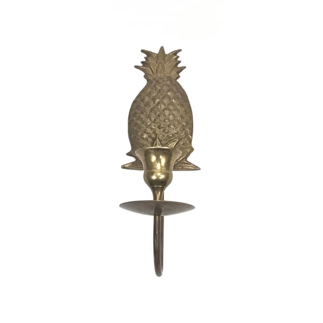 Wall Mount Candle Sconces - A Pair For Sale In Raleigh - Image 6 of 7