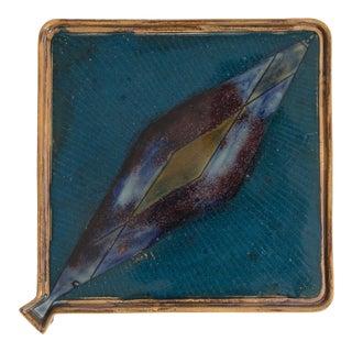 Ceramic 1950's Platter For Sale