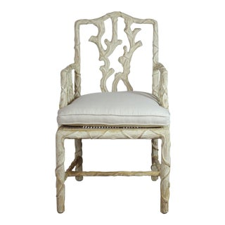 Late 20th Century Vintage Accent Armchair