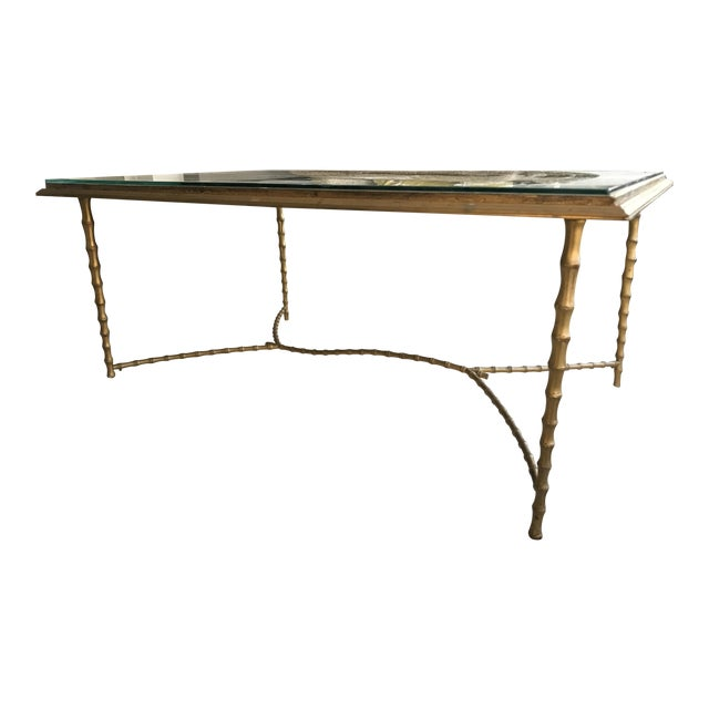 Maison Bagues Bronze Coffee Table - Image 1 of 8