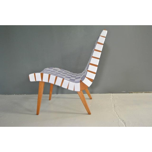 Mid-Century Modern Lounge Chair by Jens Risom For Sale - Image 3 of 9