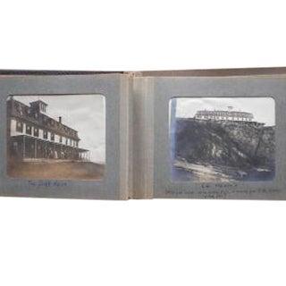 Antique 19th Century Photo Album (Pinkham Family)-Kennebunkport, Maine For Sale
