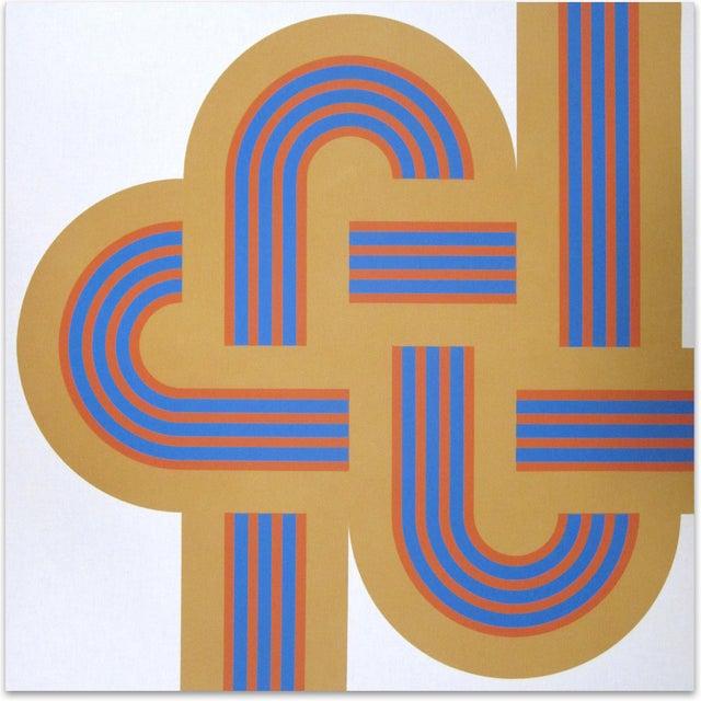 """1973 Serigraph """"Weave"""" X Large Art Reis Manwaring - Image 1 of 4"""
