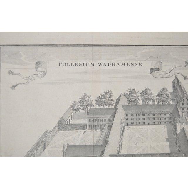 Rare Birdseye View of Wadham College Engraving - Image 3 of 10