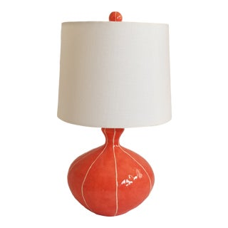 Kri Kri Studio Coral Red Table Lamp For Sale
