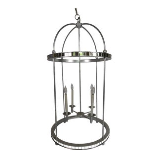 Mirrored Birdcage Chandelier For Sale