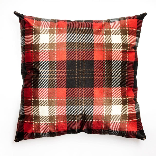 Cover Cushion - Velvet Decorative Pillows - a Pair - Image 2 of 4