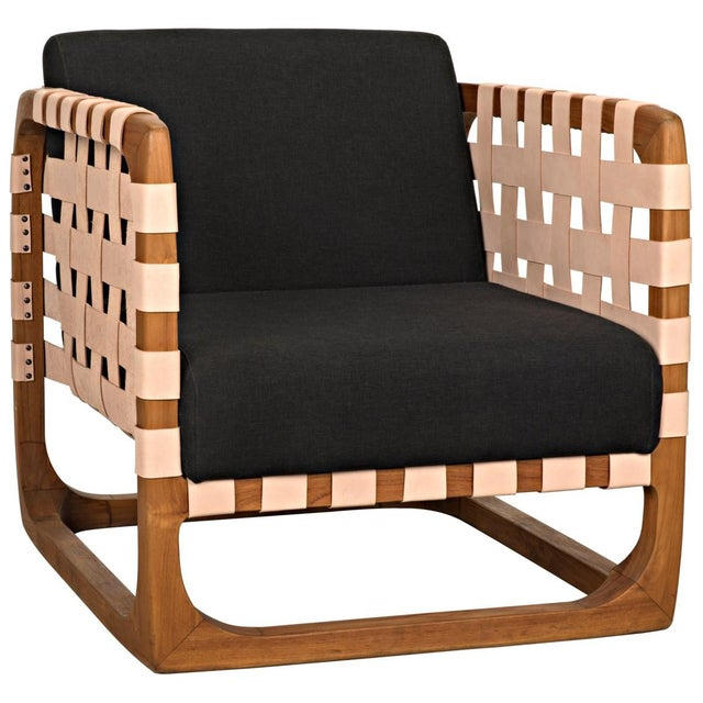 Teak Nebula Chair, Natural For Sale - Image 9 of 9