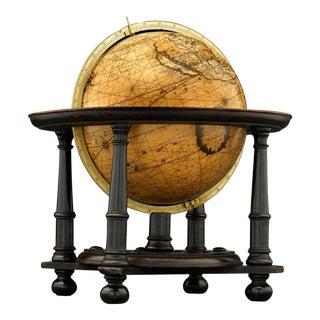 Dutch Terrestrial Table Globe by Gerard Valk For Sale