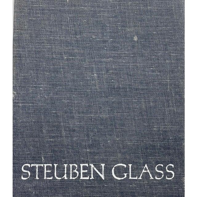 Vintage Steuben Glass Lloyd Atkins Decorative Crystal Crown For Sale - Image 11 of 13