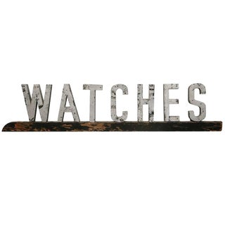 Vintage American Watches Sign For Sale