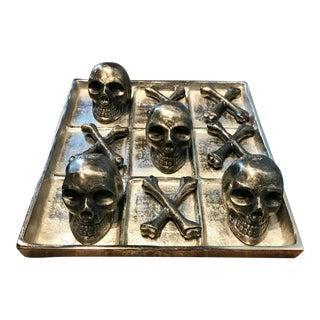 Skull & Crossbones Tic Tac Toe Game For Sale