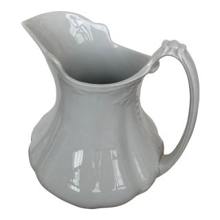 Ironstone W. H. Grindley & Co. Pitcher