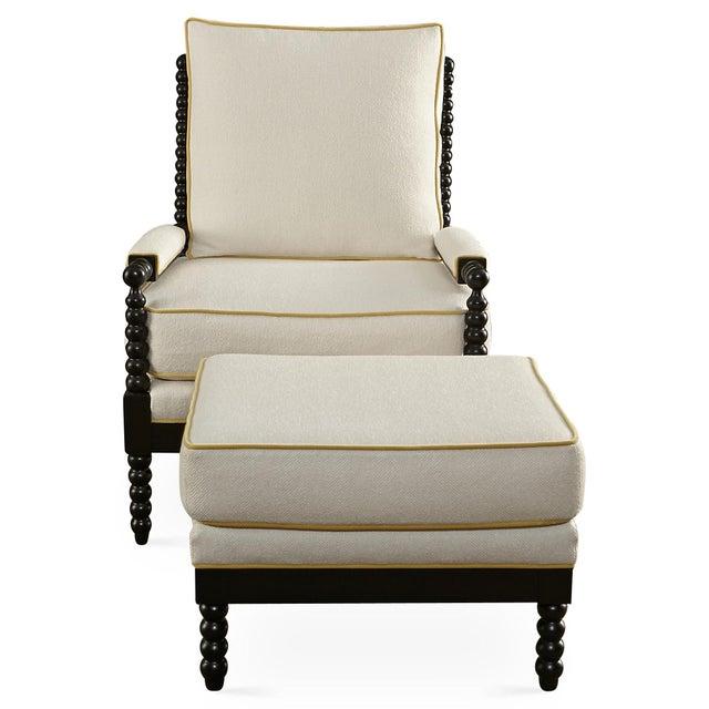 Taylor Burke Gregg Park Chair & Ottoman - Image 2 of 4