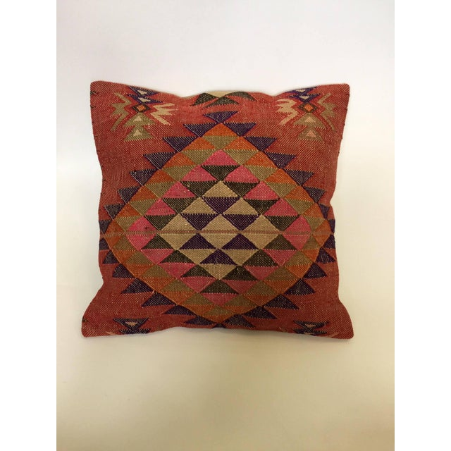 Handmade Kilim Pillow Cover - Image 2 of 6