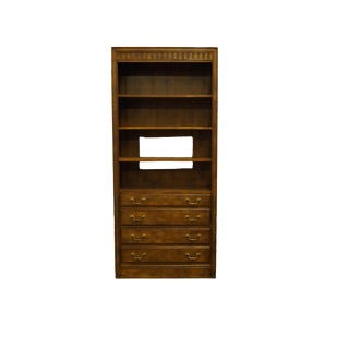 Drexel Heritage Chateau Collection French Provincial Bookcase For Sale