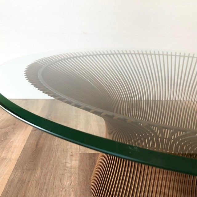 Transparent 1960s Warren Platner for Knoll Coffee Table For Sale - Image 8 of 11