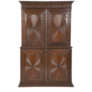 Anglo-Indian Rosewood Regency Style Cabinet For Sale
