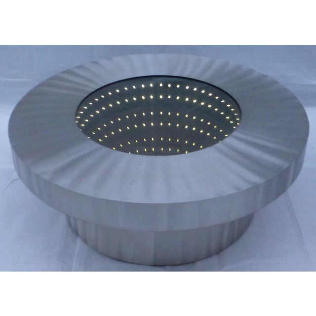 The Nova Infinite Tunnel Coffee Table For Sale - Image 9 of 11