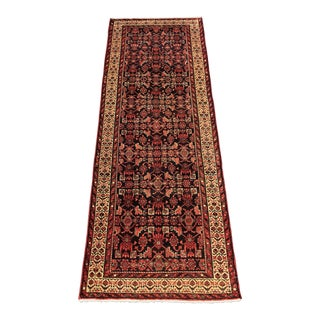 Vintage Persian Malayer Runner - 3′5″ × 10′