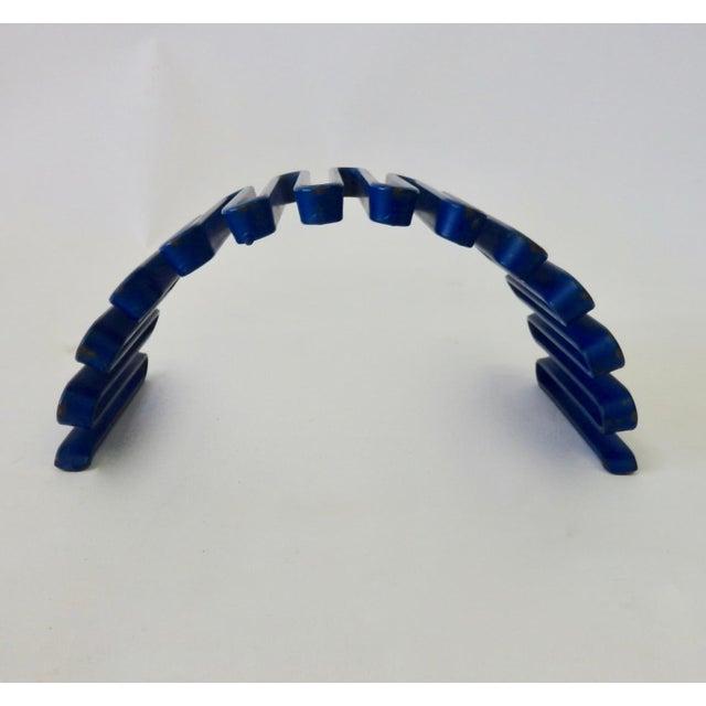 Industrial Industrial Desktop Sculptural Organizer Falk 1140T For Sale - Image 3 of 8