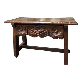Spanish Side Table, circa 1750 For Sale