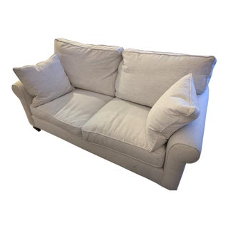White Cornerstone Sofa For Sale