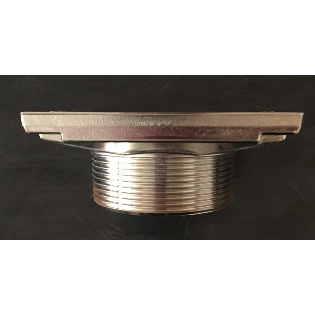 Waterworks Universal Shower Drain in Chrome For Sale - Image 4 of 9