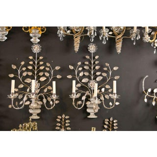 1930s French Silver Leaf Sconces - a Pair Preview