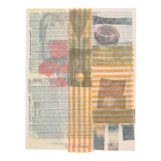 """Robert Rauschenberg """"One More…"""" Screenprint, Signed For Sale"""
