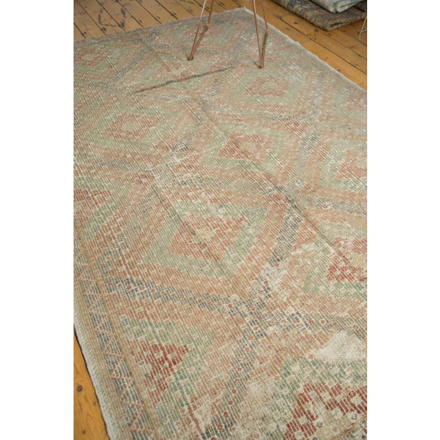 "Islamic Vintage Turkish Jijim Carpet - 6'3"" x 9'2"" For Sale - Image 3 of 8"