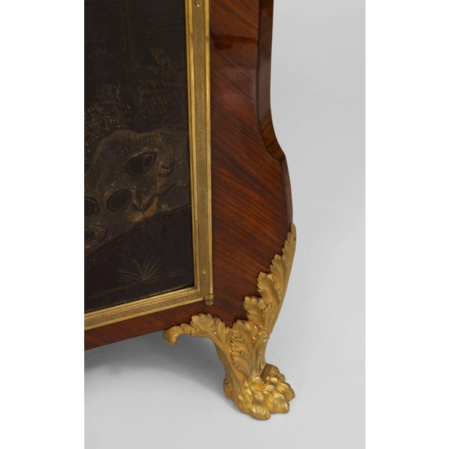 19th C. French Louis XV/XVI Style Commode Signed by Decour For Sale - Image 4 of 7