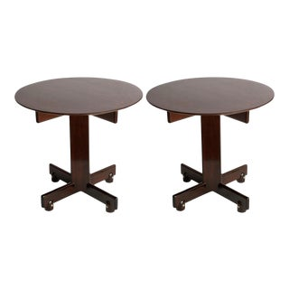 Vintage Sergio Rodrigues 'Alex' Side Tables - a Pair For Sale