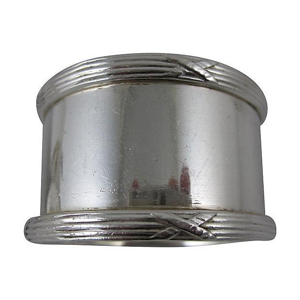 English Silver Plate Napkin Rings - Set of 8 - Image 6 of 8