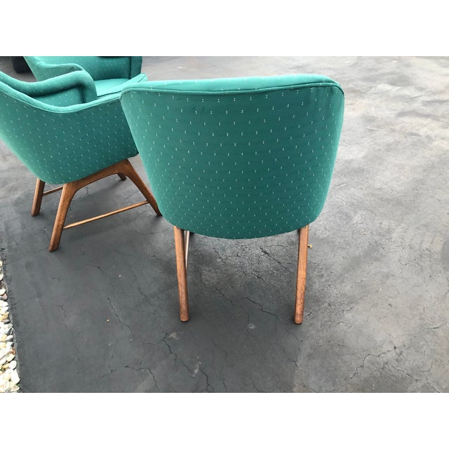 Wood Mid Century Pearsall Style Chairs- Set of 3 For Sale - Image 7 of 13