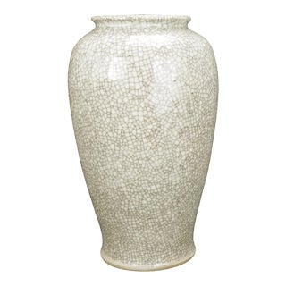 19th Century Chinese Crackleware Vase For Sale