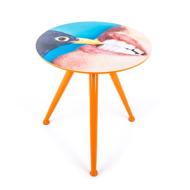 Seletti Seletti, Crow Side Table, Toiletpaper, 2017 For Sale - Image 4 of 4