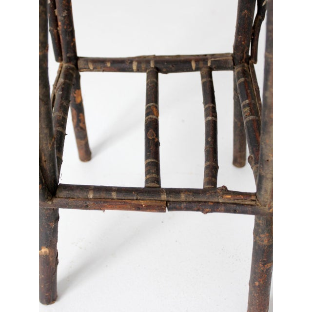 Antique Adirondack Twig Table For Sale - Image 10 of 11