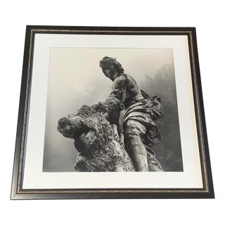 Photograph of Hunt Scene at Marly-Le-Roi Gardens by Becky Cohen For Sale