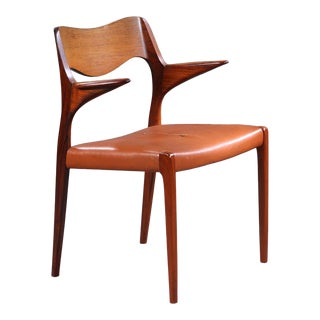 Niels Otto Møller Armchair Model 55, Denmark, Early 1960s For Sale