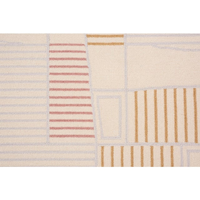 Contemporary Schumacher Retronaut Area Rug in Hand-Tufted Wool, Patterson Flynn Martin For Sale - Image 3 of 7