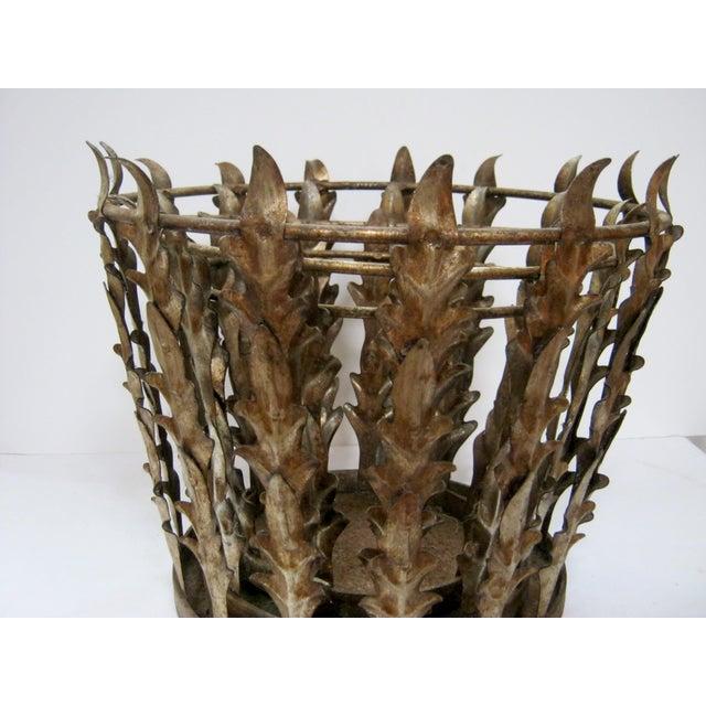 Vintage Italian Nest of 3 Acanthus Leaf Baskets - Set of 3 - Image 6 of 8
