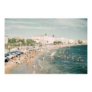 1960s Vintage Limited Edition French Riviera Cannes France Photograph Print