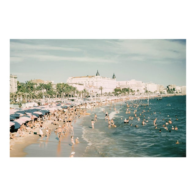 1960s Vintage Limited Edition French Riviera Cannes France Photograph Print For Sale