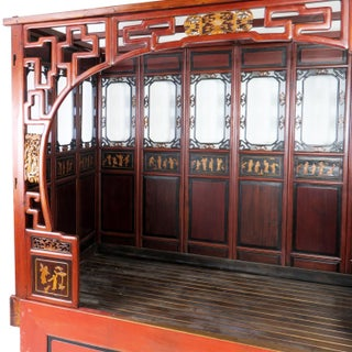 Chinese Canopy Wedding Opium Bed Carved Preview